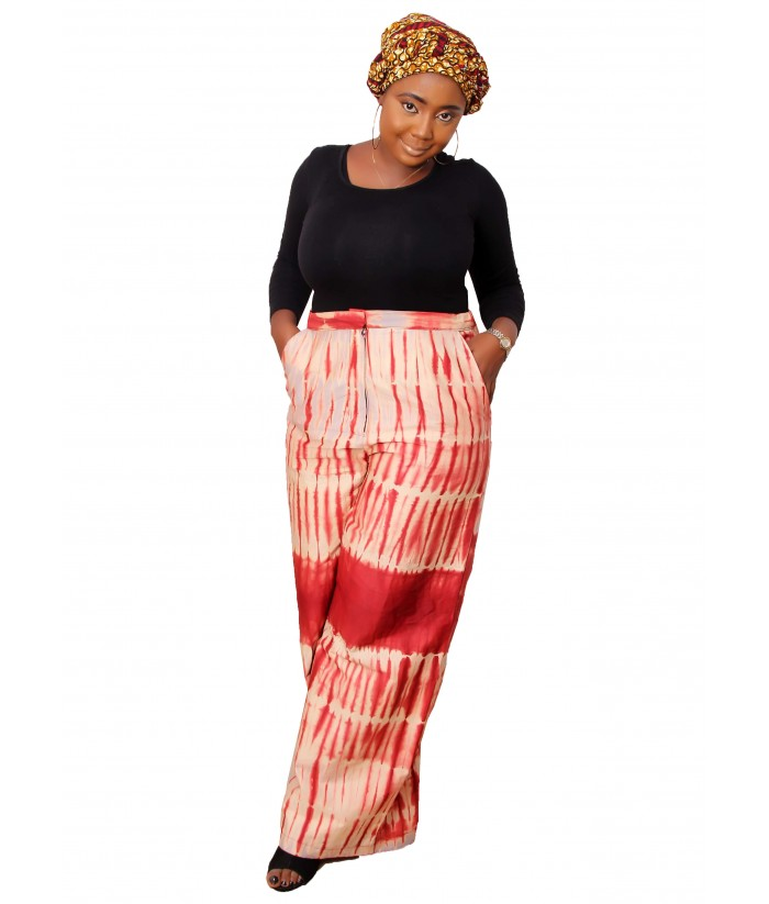African Palazzo Pant -  View
