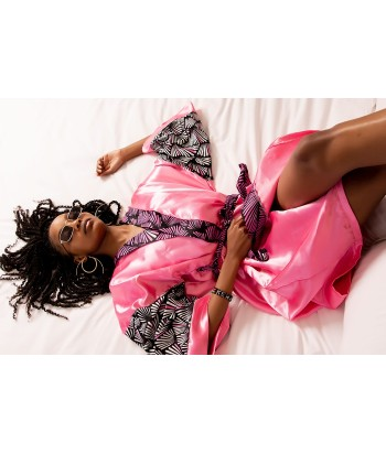 AYANA Pink Dressing Gown