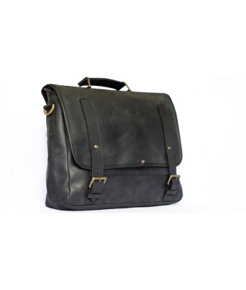 Mo Leather Messenger Bag