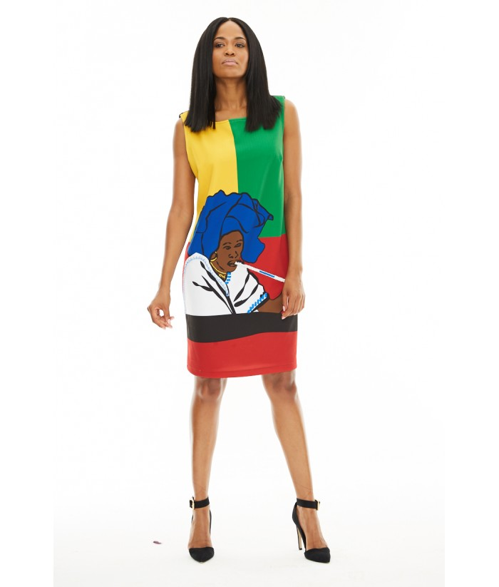 Xhosa Shift Dress