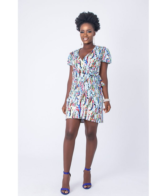 Kiki Wrap Dress