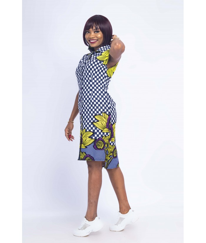 Kelechi Shirt  Dress