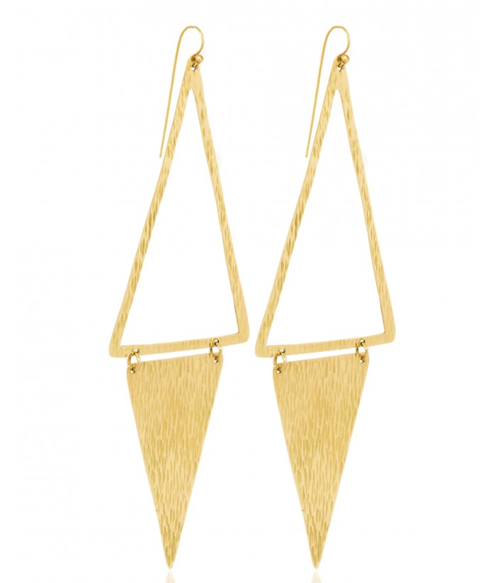 Faith Long Earrings