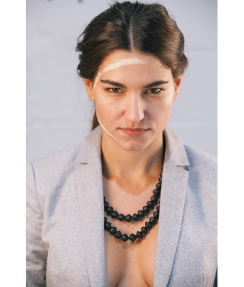 Yagazie Necklace - Matte Black