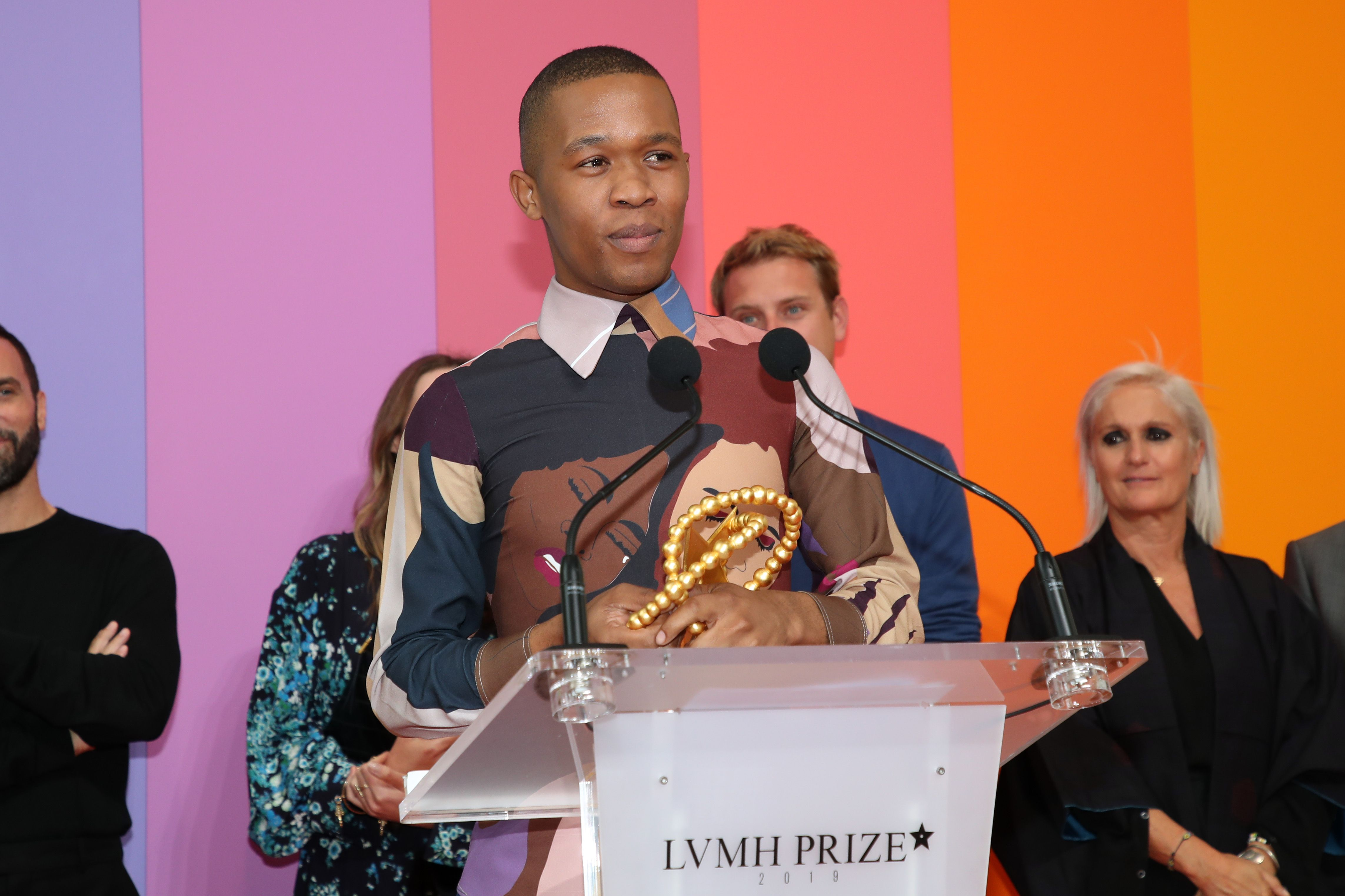 Thebe Magugu First LVMH Prize Recipient from Africa